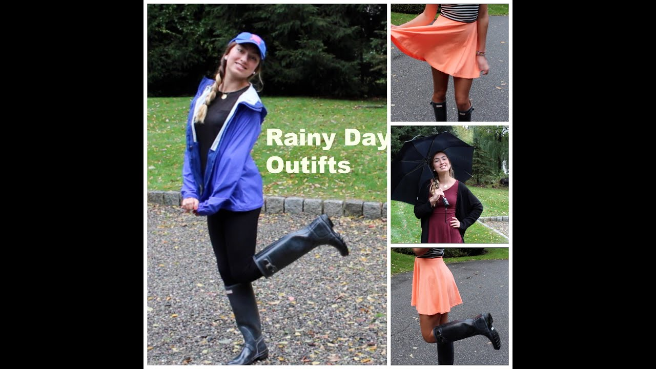Rainy Birthday Outfit: Rainy Day Outfit Ideas ˜�