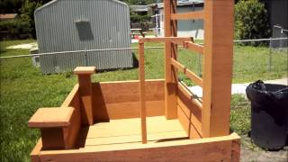 Build Your Own Elevated Planter 101 Free From Me! Complete Video!