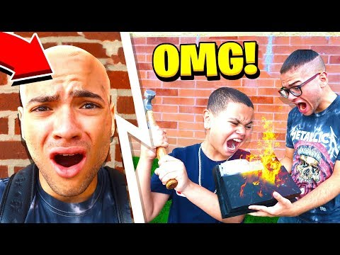 I SAID YES TO EVERYTHING MY LITTLE BROTHER SAID FOR 24 HOURS... (Gone Too Far!) HE DESTROYED MY PS4!