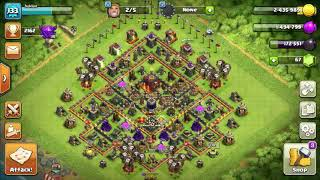 Clash of clans single player map- Graduation Ceremony
