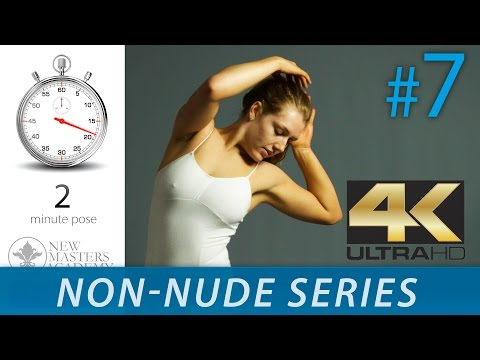 Art Model Reference Images To Draw - Figure Drawing Reference Images (NON-NUDE SERIES DLDS #7) In 4K