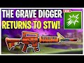 The Grave Digger Has Returned to STW! Grave Digger Weapon Re-Review | Fortnite Save The World