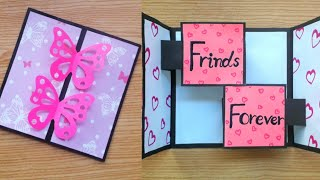 DIY Friendship Day Card Easy | Friendship Day Cards  | Friendship Day Gifts