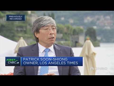 LA Times owner: We have people on the ground, social networks don't | Ambrosetti 2018