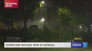 Hurricane Michael now in Georgia