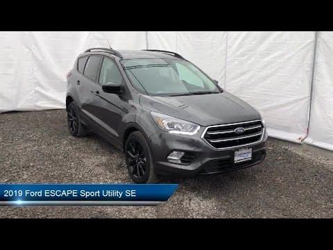 2019 Ford ESCAPE Sport Utility SE Carthage Watertown Gouverneur Syracuse Utica
