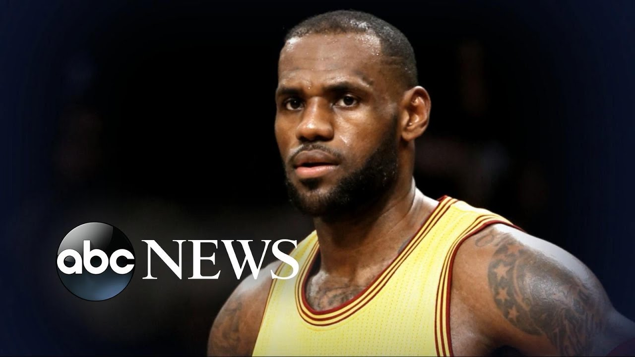 LeBron James is getting more political. Does that mean he's leaving the Cavaliers?