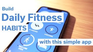 Build daily fitness habits with this simple app
