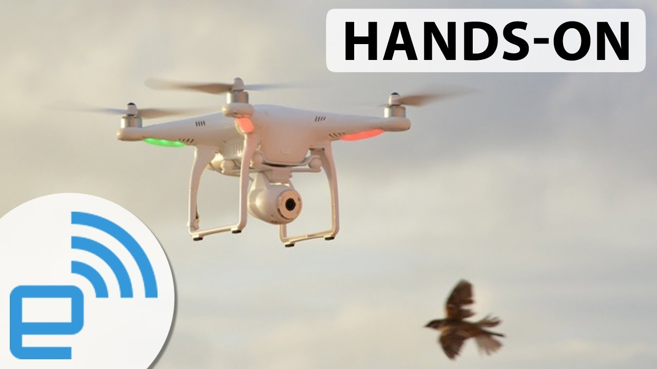 DJI Phantom 2 Vision hands-on | Engadget