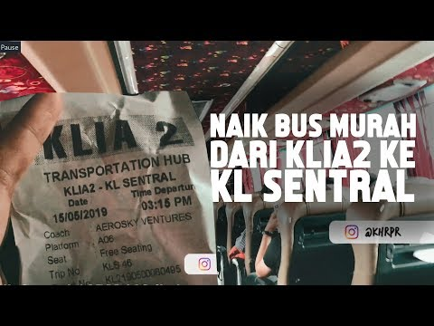 cara-naik-bus-dari-klia2-ke-kl-sentral