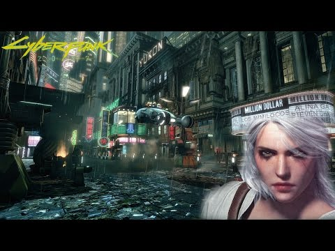 The Witcher 3 | Cyberpunk 2077 Reference | MAJOR SPOILERS