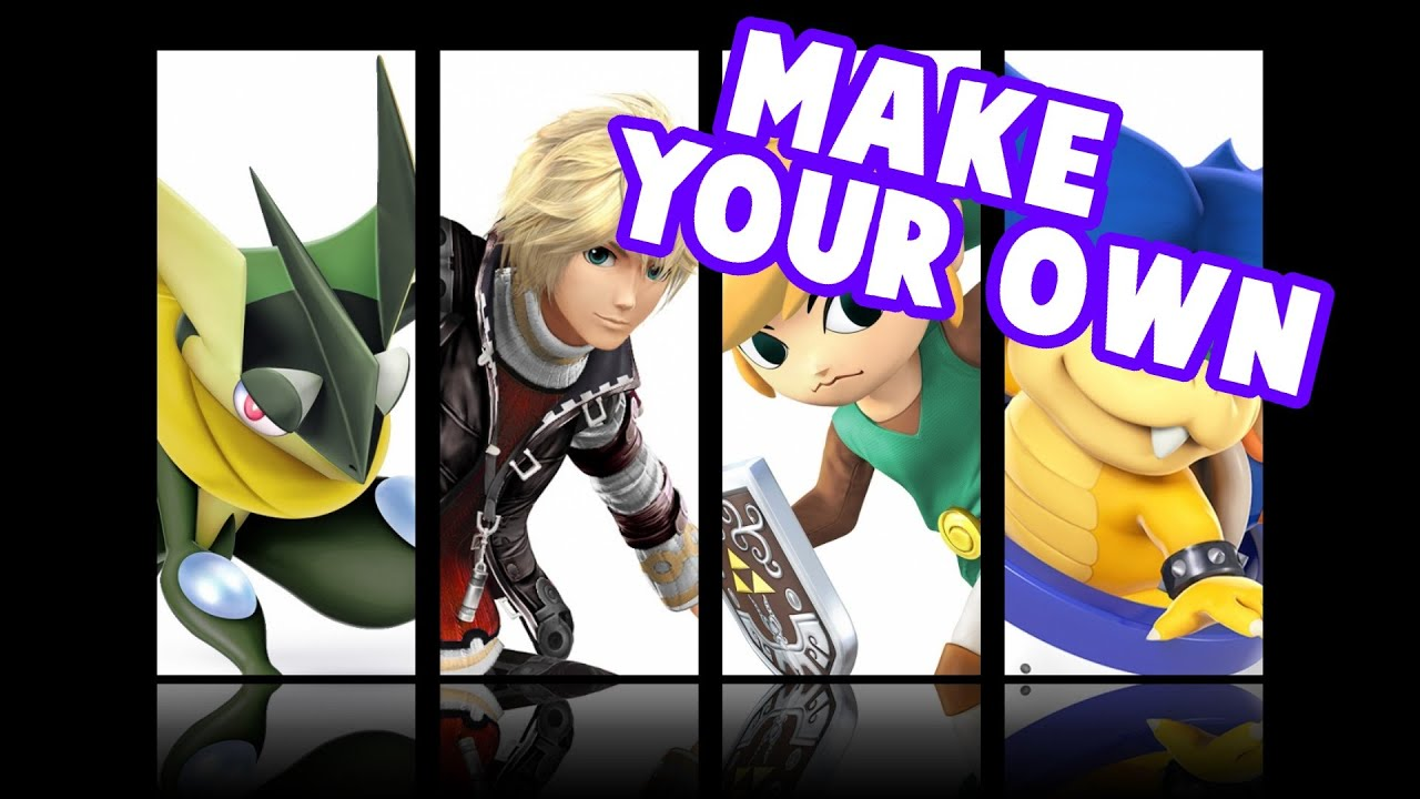 EASILY Make Your Own Smash Main Wallpaper Like This!!! - YouTube