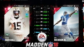 NEW ADDITIONS & FIRINGS! LINE UP UPDATE! | Madden 16 Ultimate Team | MUT 16 Gameplay