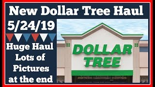 Huge Dollar Tree Haul 🤑 5/24/19 Lots of pictures at the end.