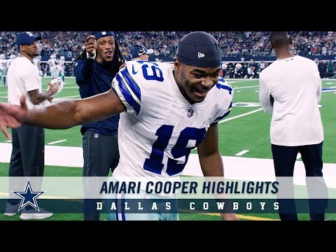 Worth The First: Amari Cooper Highlights | Dallas Cowboys 2019