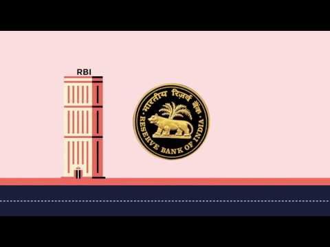 What does the Reserve Bank of India do?