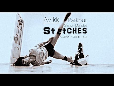 Stitches | Shawn Mendes | Sam Tsui | Avikk Parkour