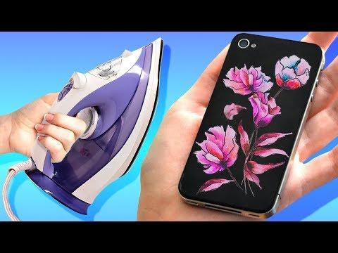 Как украсить силиконовый чехол для телефона своими руками фото