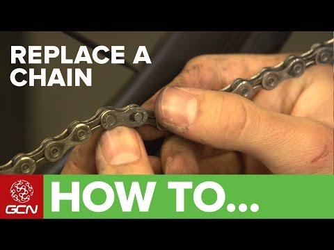 How To Replace A Bicycle Chain
