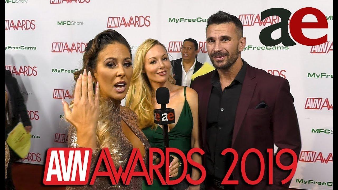 Kayden Kross Manuel Ferrara 2019 Avn Red Carpet Interview