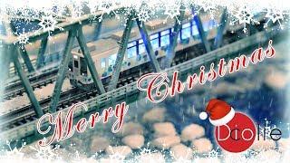 メリークリスマス 2017!雪の鉄道!Nゲージ 鉄道模型