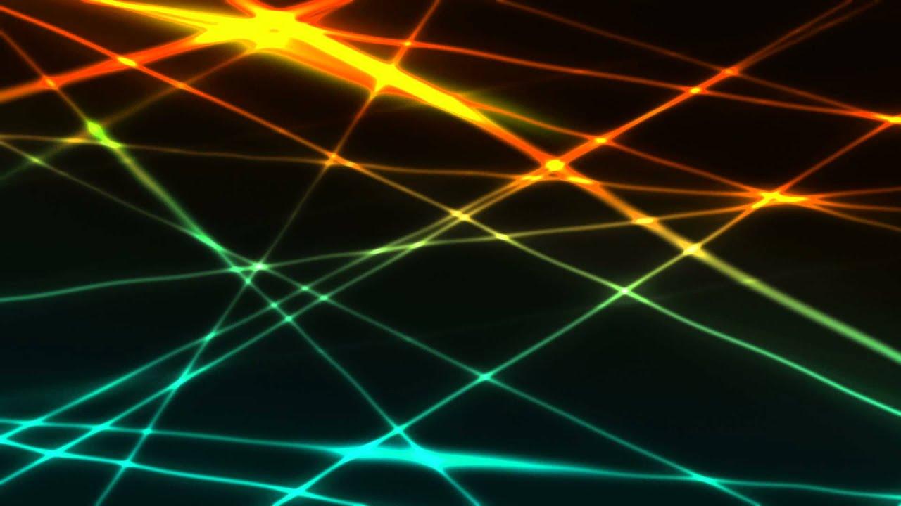 30 Light Effect Wallpapers To Liven Up Your Desktop: Footage Background 'Laser Light Beams'