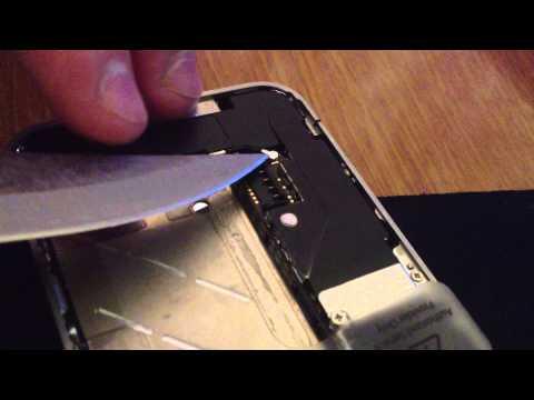 видео: Избавляемся от проблемы с сетью iphone 4