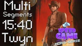 Speed Game Hors-série: 1001 Spikes Multi-segments, 2 joueurs en 15:40 !