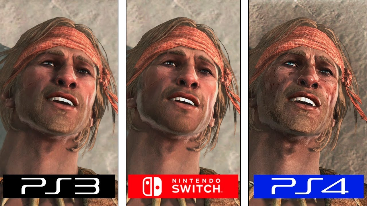 Assassin S Creed Iv Black Flag Switch Ps4 Ps3 Graphics