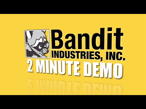 Two Minute Demo: Bandit Model 1390XP