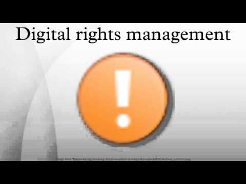 piracy and digital rights management of Digital rights management  some forms of drm can be beneficial to digital rights holders because the losses from piracy are outweighed by the.