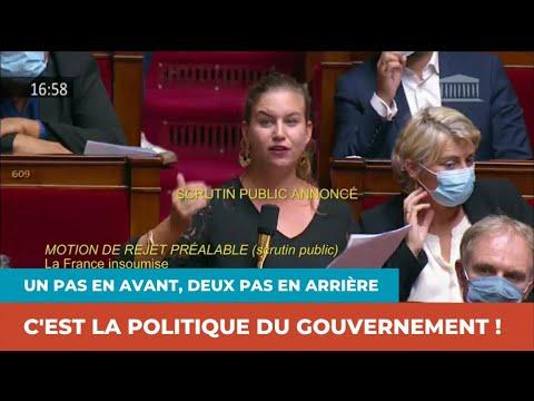 UN PAS EN AVANT, DEUX PAS EN ARRIÈRE : C'EST LA POLITIQUE DU GOUVERNEMENT !