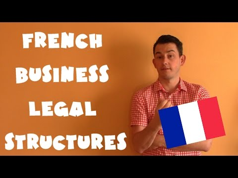France #13 - French business legal structures