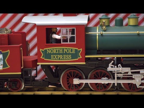A Very Merry Christmas Train Video