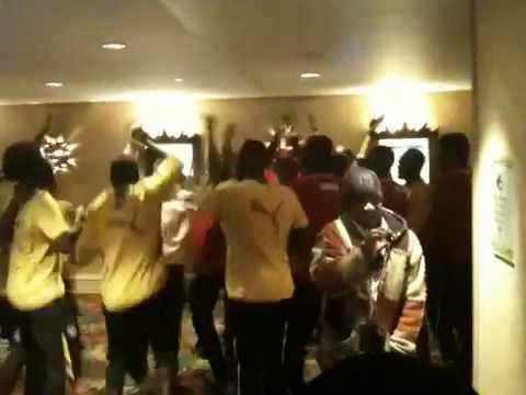 Ghana players show true team spirit