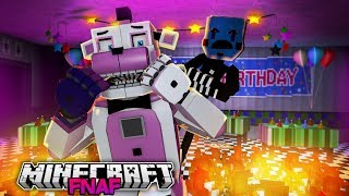Inside the Mind of Freddy- Funtime Freddy Gets Caught- Minecraft FNAF Roleplay