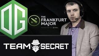 Папич оценивает скилл игроков Team Secret и OG Dota2