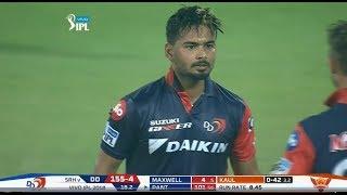 Rishab Pant Batting Mayhem In Delhi - Powerful Inning- DD vs SRH IPL 2018