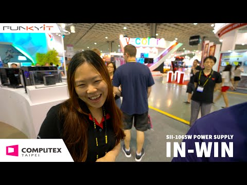 IN-WIN SII-1065W POWER SUPPLY - Computex 2016 with Funkykit.com