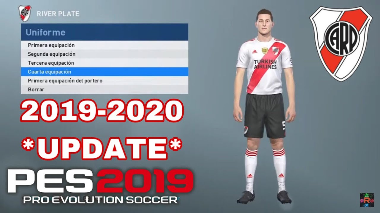 Home Plate 2020.Pes 2019 Update Kit River Plate 2019 2020 Home Away Third Gk Iamrubenmg