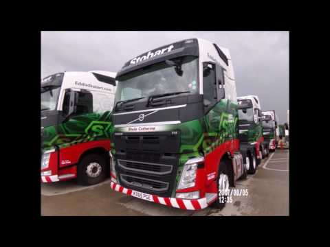 Truck Spotting at RTS & Stobart Depot Tour of Rugby