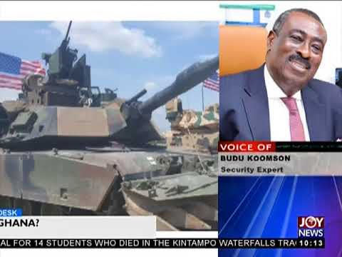 US Military Base In Ghana - News Desk on Joy News (20-3-18)