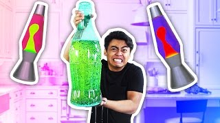 DIY How To Make GIANT COCA COLA LAVA LAMP!