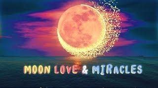 639Hz 》MOON, LOVE & MIRACLES 》Attract Love, Balance Mood & Emotions, Heal Heart Chakra