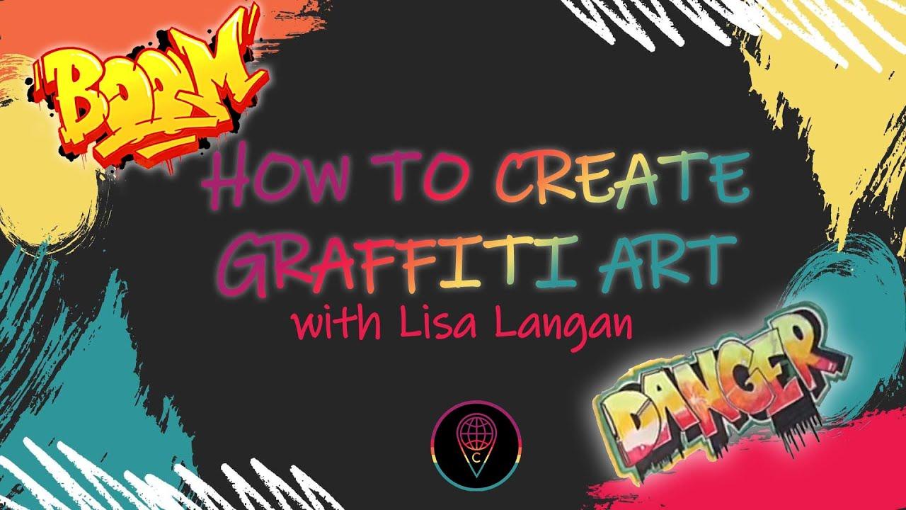 Guided Drawing With Lisa: Graffiti