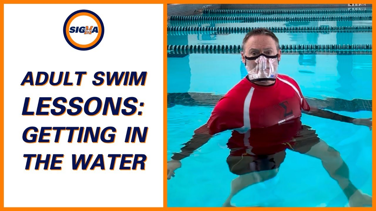 Learn-to-Swim Tip: How To Get In The Water