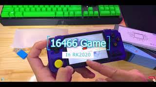 {LC Tech} Preview Máy Chơi Game Cầm Tay RK2020 V2 Purple - Best Retro Handheld 2020 - Tặng Thẻ 64G