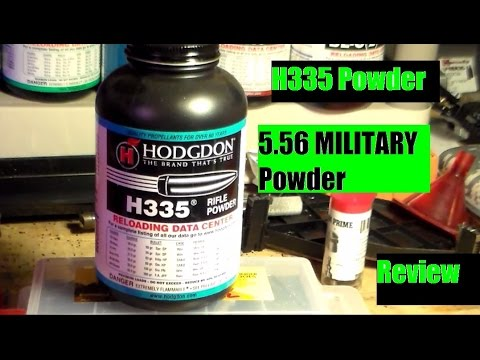 H335 Military Powder 5.56 - 223 Review by JSD Arms / POGMarineFPS