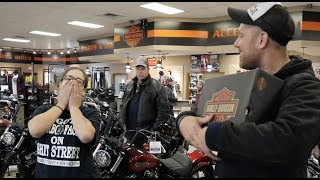 Harley-Davidson Foot Wear and I said thank you at Mobile H-D