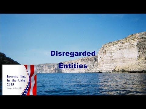 Disregarded Entities